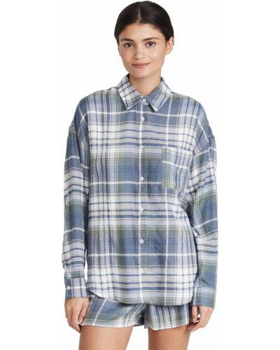 Flanelowa koszula - niebieska Z Supply