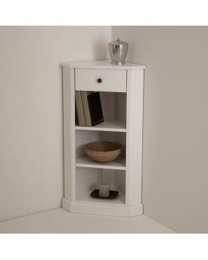 Угловой стол из тика мдф La Redoute Interieurs