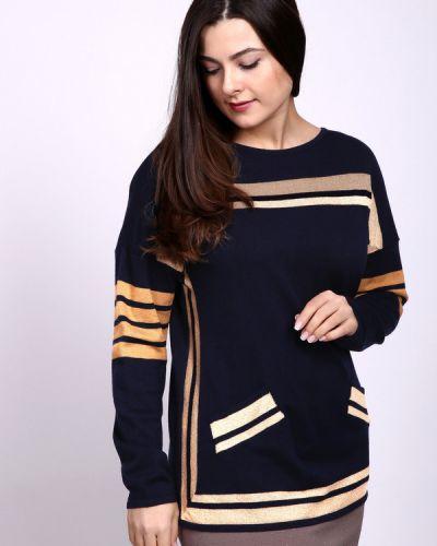 Пуловер с воротником прямой Eugen Klein