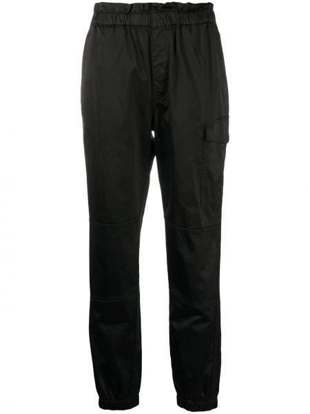 Черные зауженные брюки карго с поясом J Brand