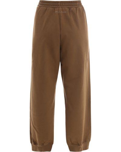 Spodnie - brązowe Mm6 Maison Margiela