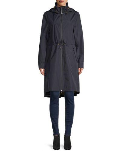 Длинное пальто с капюшоном с воротником с длинными рукавами Mackage