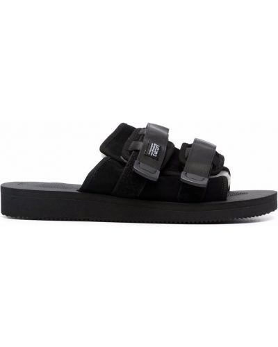 Sandały zamszowe - czarne Suicoke