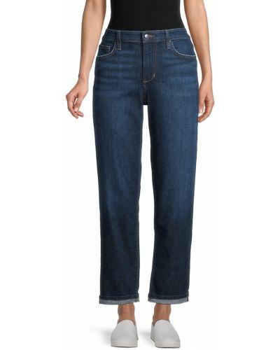 Синие джинсовые бойфренды Joe's Jeans