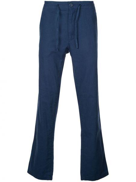 Niebieskie spodnie bawełniane Onia