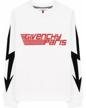 Свитшот с логотипом белый Givenchy