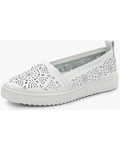 Белые слипоны Zenden Comfort