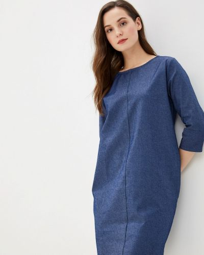 Джинсовое платье - синее Massimiliano Bini