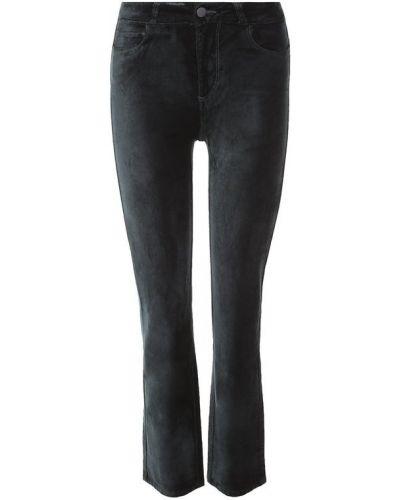 Укороченные джинсы зеленый Paige