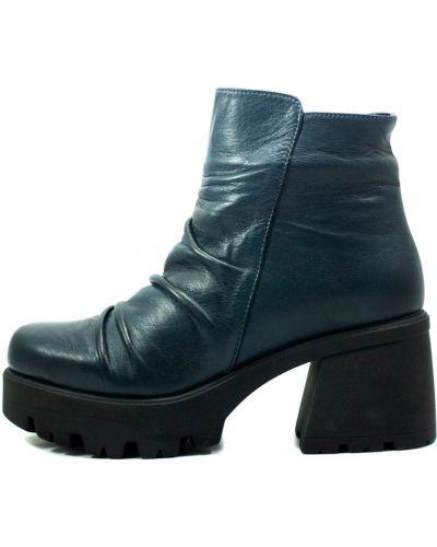 Ботинки - синие Sherlock Soon