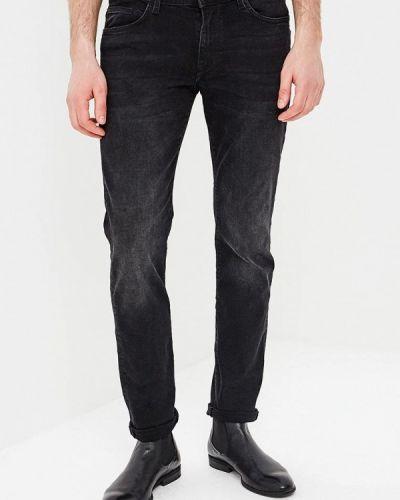 Зауженные черные джинсы-скинни Celio