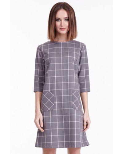 Серое платье Vladi Collection