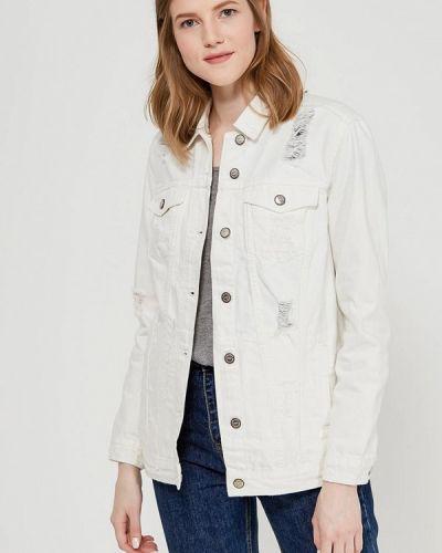 Белая джинсовая куртка Only