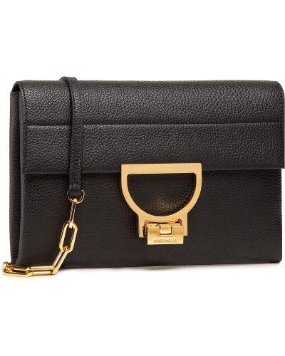 Czarna torebka elegancka Coccinelle