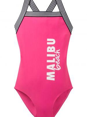 Розовый купальник Bonprix