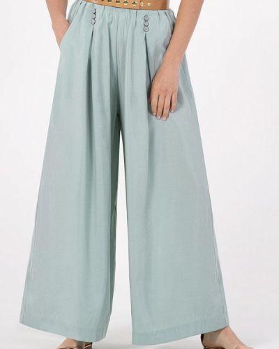Повседневные зеленые брюки Petit Pas