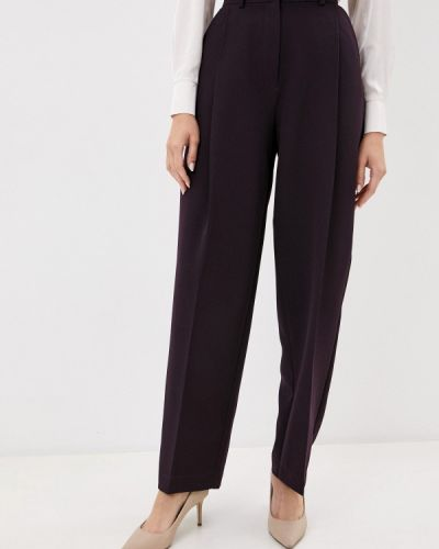 Повседневные фиолетовые брюки Gregory