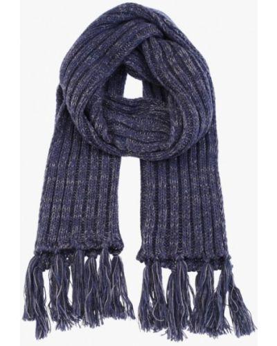 Синий шарф осенний Fomas