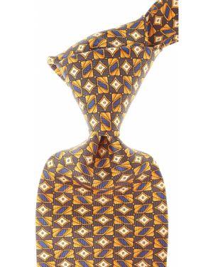 Złoty krawat - szary Raffaello