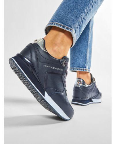 Sneakersy na platformie Tommy Hilfiger
