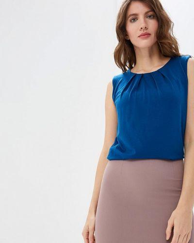 Блузка без рукавов синяя Iwie