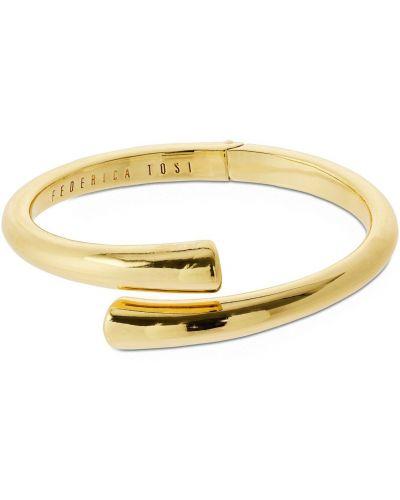 Żółta złota bransoletka pozłacana Federica Tosi