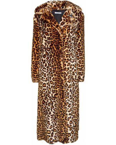 Пальто леопардовый с принтом Vivetta