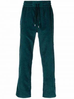 Zielone spodnie bawełniane Just Don