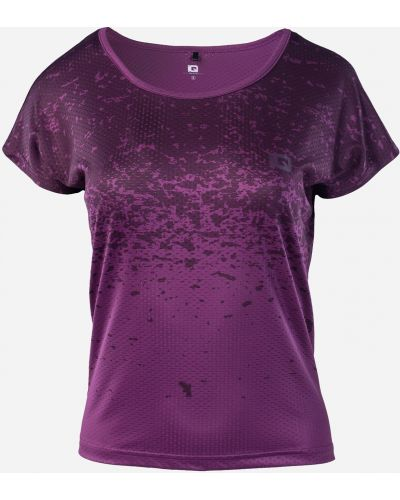 Фиолетовая футболка Iq