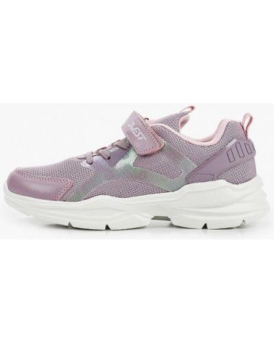 Фиолетовые кроссовки из искусственной кожи Qwest