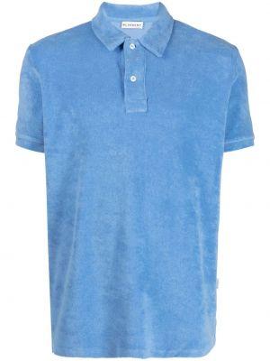 Niebieska klasyczna koszula krótki rękaw bawełniana Bluemint