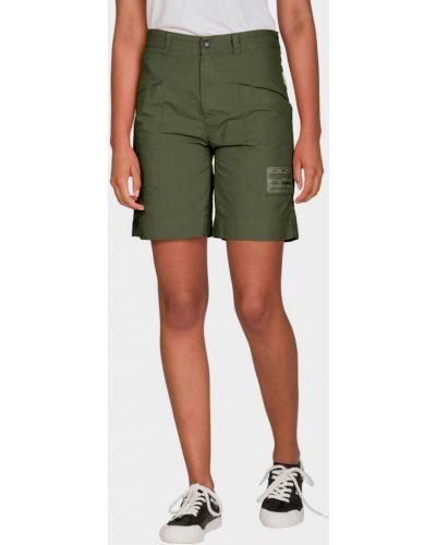 Свободные хлопковые шорты милитари Napapijri