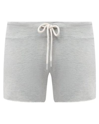 Серые хлопковые шорты Monrow