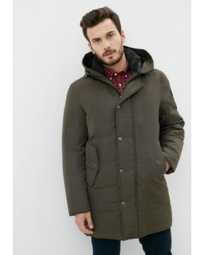 Утепленная куртка - зеленая Joop!