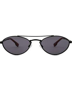 Czarne okulary Le Specs Luxe