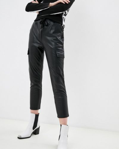 Кожаные черные брюки Softy