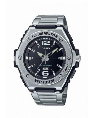 Серебряные часы Casio