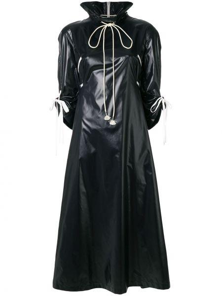 Черный тренчкот на молнии Calvin Klein 205w39nyc