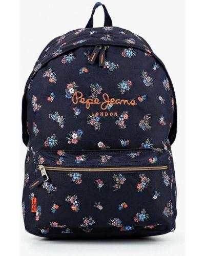 Рюкзак синий Pepe Jeans