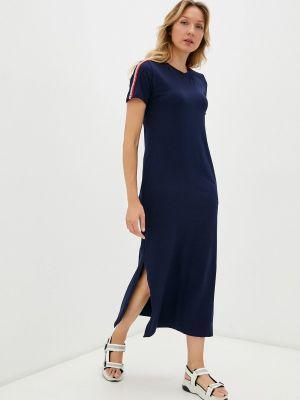 Синее платье осеннее Winzor