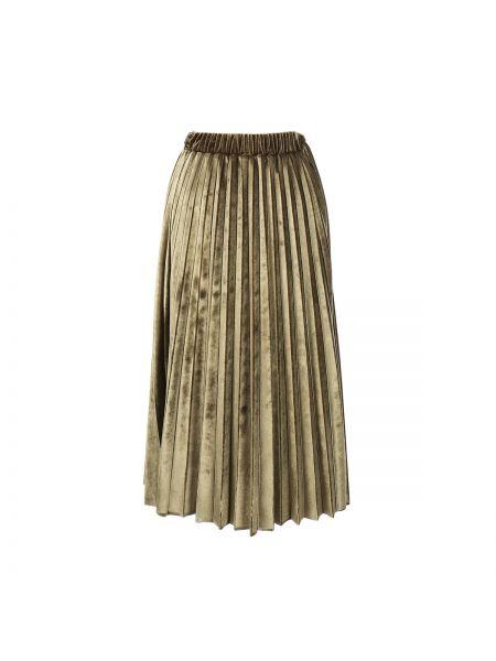 Плиссированная юбка миди мини Rene Derhy