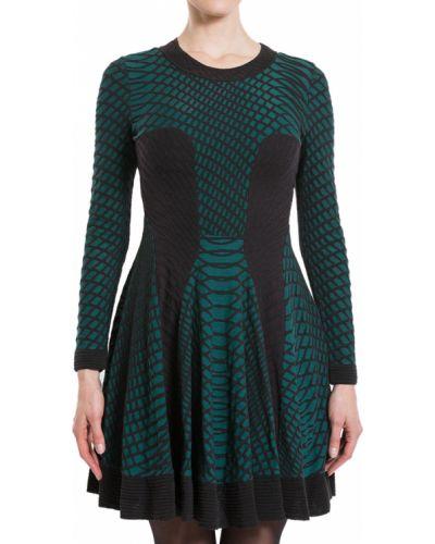 Хлопковое платье - зеленое Missoni