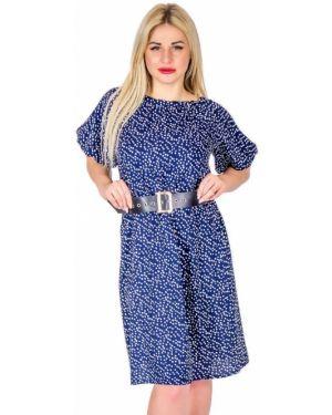 Платье в горошек из штапеля инсантрик