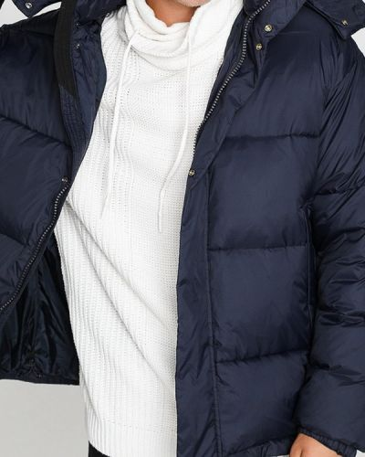 Зимняя куртка осенняя синяя Ostin