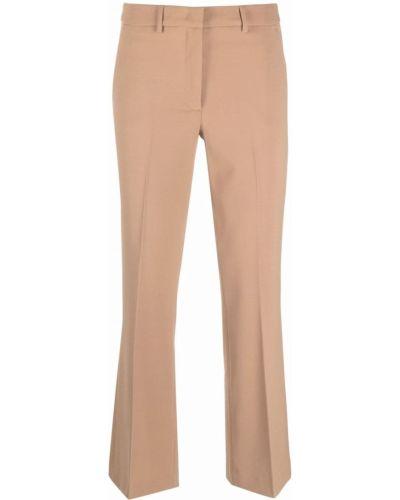 Бежевые брюки с поясом Seventy