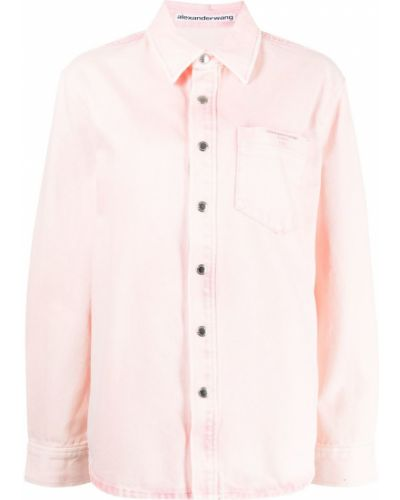 Klasyczna koszula - różowa Alexander Wang