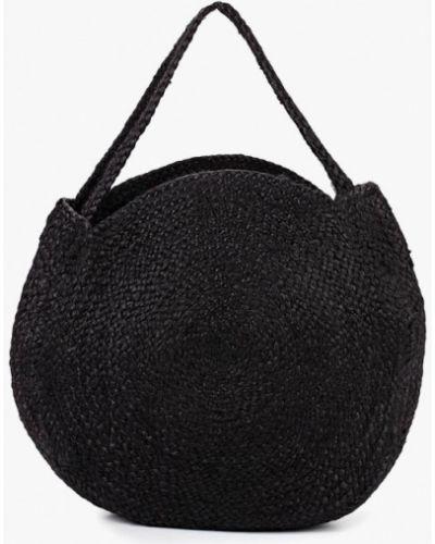 Пляжная сумка соломенная Mango