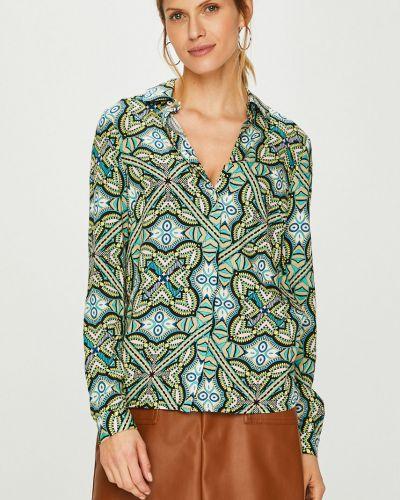 Блузка с длинным рукавом из вискозы прямая Trussardi Jeans