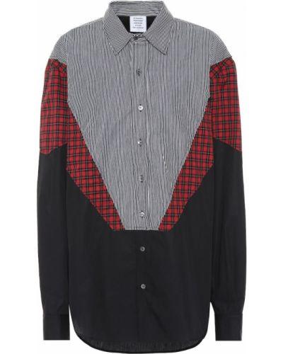 Рубашка оверсайз деловая Vetements