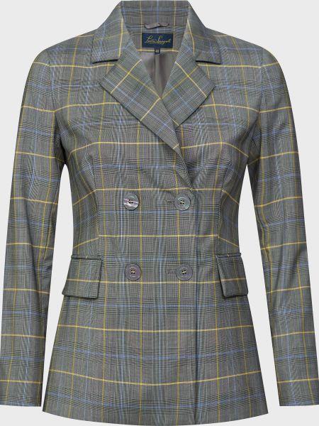 Шерстяной пиджак на пуговицах с подкладкой Luisa Spagnoli
